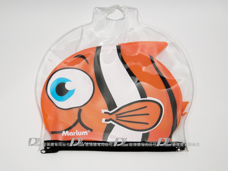 【登瑞體育】MARIUM 小丑魚矽膠泳帽- MAR76087075D