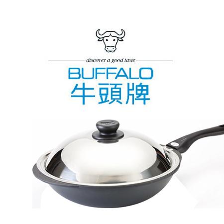 牛頭牌 小牛黑石單把炒鍋【39CM】小牛系列