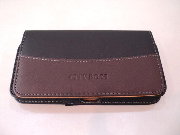 全蓋式 6吋 以下 約170 x 90 x 15 mm 高質感 消磁 橫式 掛腰 手機 皮套/腰掛/加大/SONY/Nokia/LG/GPLUS