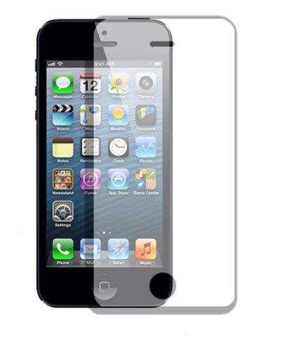 【APPLE iPhone 5/5S 專用螢幕保護貼】0.3mm 鋼化玻璃保護貼 手機螢幕高清晰度保護貼/耐刮/抗磨/觸控順暢度高/疏水疏油*TIS購物館