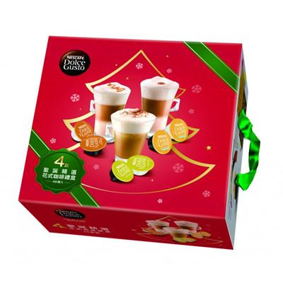 雀巢 新型膠囊咖啡機專用 耶誕精選花式咖啡禮盒 料號 12321491 ★暢銷花式咖啡組合