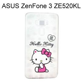 Hello Kitty 透明軟殼 [問候] ASUS ZenFone 3 (ZE520KL) 5.2吋【三麗鷗正版授權】