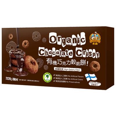 有機巧克力穀脆餅60g