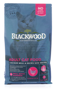 WDJ推薦 Blackwood 柏萊富天然寵糧 特調成貓亮毛配方(雞肉+糙米) 13.23LB/13.23磅/6KG