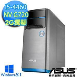 ASUS M32ADL-446GPNE(i5-4460)桌上型電腦(WIN8.1) i5-4460/4G/1TB+8GSSD/GT 720-2G/W8.1