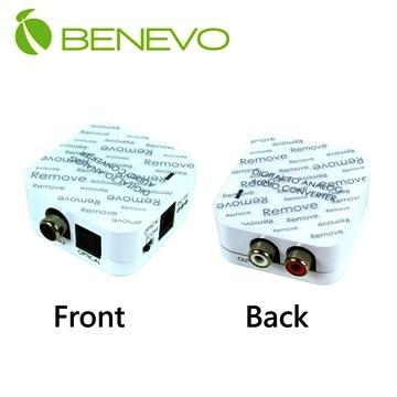 BENEVO UltraVideo 數位同軸與光纖 轉 類比立體聲轉換器 ( BDAC03 )