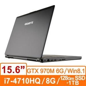 技嘉GIGABYTE P35WV3-BSMF3A30 (黑) 筆記型電腦 Core i7-4710HQ/ FHD 廣視角防反光/GTX 970M D5 6G/背光鍵盤 /DDR3L 8GB/128G ..