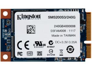 Kingston 金士頓SMS200S3/240G mSATA SSD 固態硬碟