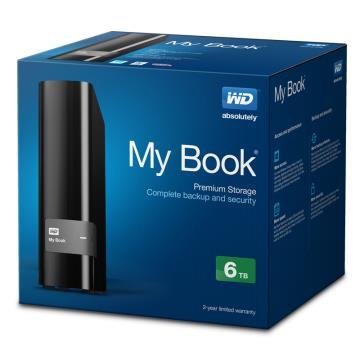 """WD MY Book Essential 3.5""""6TB USB3.0 外接式硬碟 ( WDBFJK0060HBK-SESN )"""