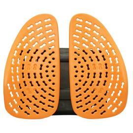 集寶科技WR-901健康舒活雙背墊(橘色) 舒適吸壓 [