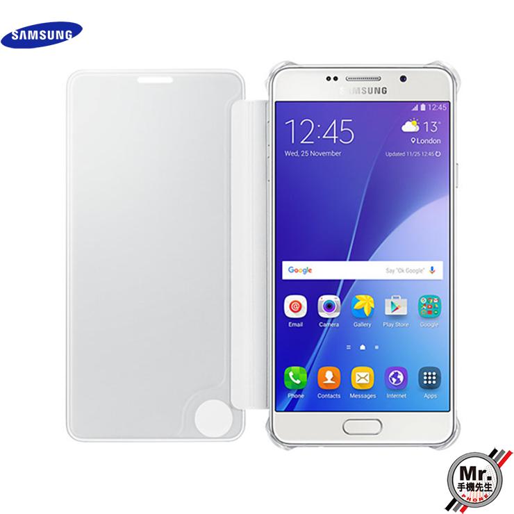 ※手機先生※【Samsung】Galaxy A7 2016年 全透視感應皮套 智能感應晶片保護套 原廠公司貨