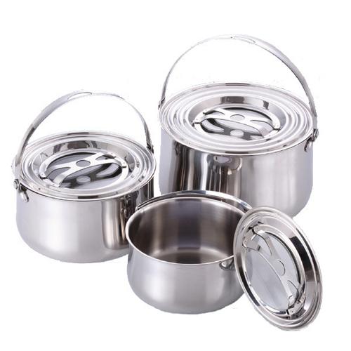 牛頭牌雅登不鏽鋼調理鍋3入組