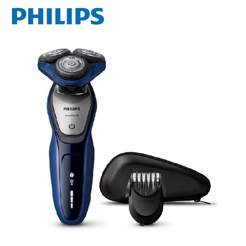 飛利浦PHILIPS君爵系列乾濕兩用三刀頭電鬍刀(S5600)
