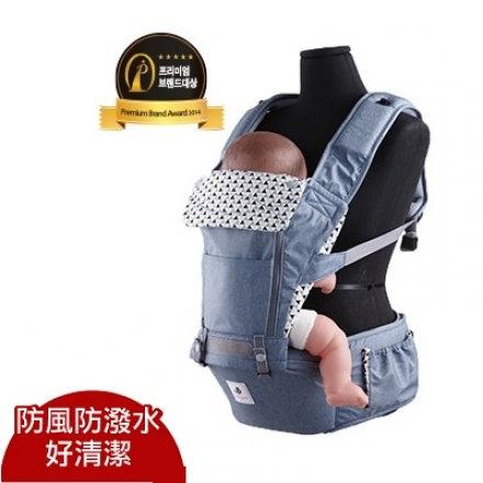 【送平安袋】Pognae NO.5超輕量機能坐墊型背巾 嬰兒背巾 揹帶 揹巾@六甲媽咪