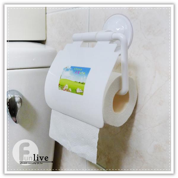 【aife life】吸盤捲筒衛生紙架/強力吸盤衛生紙架/面紙盒/滾筒紙巾/捲筒衛生紙盒/廚房紙巾