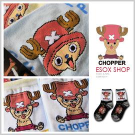 【esoxshop】DK 航海王兒童襪-喬巴吐舌頭│童襪系列│適合5~8歲、9~12歲《兒童襪/學生襪/造型襪/海賊王》