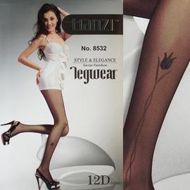 【esoxshop】╭*TIANZI 玫瑰傳情超薄緹花褲襪╭*流行時尚新款《絲襪/褲襪褲/造型襪》