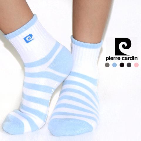 【esoxshop】╭*Pierre Cardin 皮爾卡登 條紋止滑兒童襪╭*舒適好穿│保證正品《船襪/船型襪/短襪/踝襪/學生襪》
