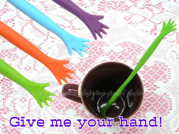 韓版 HIGH FIVE 手型攪拌棒 手掌造型(1組5入) 咖啡飲料攪拌好幫手【DN213】◎123便利屋◎