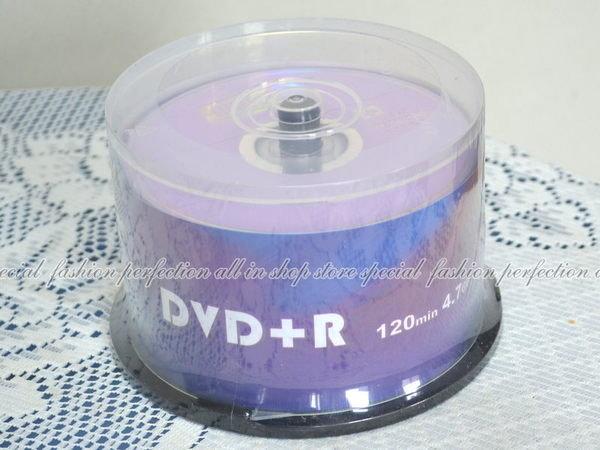 中環 Media 空白光碟片 DVD+R 16X 4.7G 50入DVD光碟 布丁桶裝【DC420】◎123便利屋◎