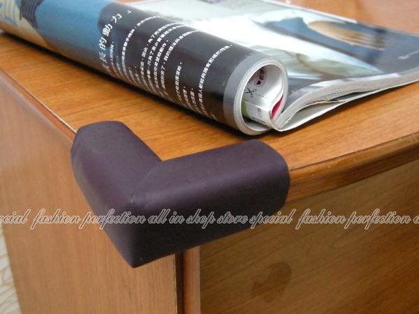 柔軟泡棉 加厚防撞桌角 桌角保護墊 安全防護桌角護墊(1入)【DL120】◎123便利屋◎