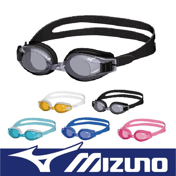 萬特戶外運動 MIZUNO美津濃 N3JF600000 兒童泳鏡 女性也適用 抗UV 親膚 可調整 防霧 荻野公介愛用
