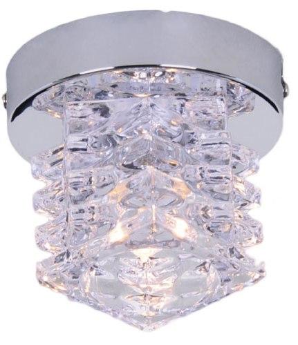 北歐簡約風★ 設計感 金屬電鍍 1燈小半吸頂燈 ★永旭照明LS-7182-2(91693/C1)