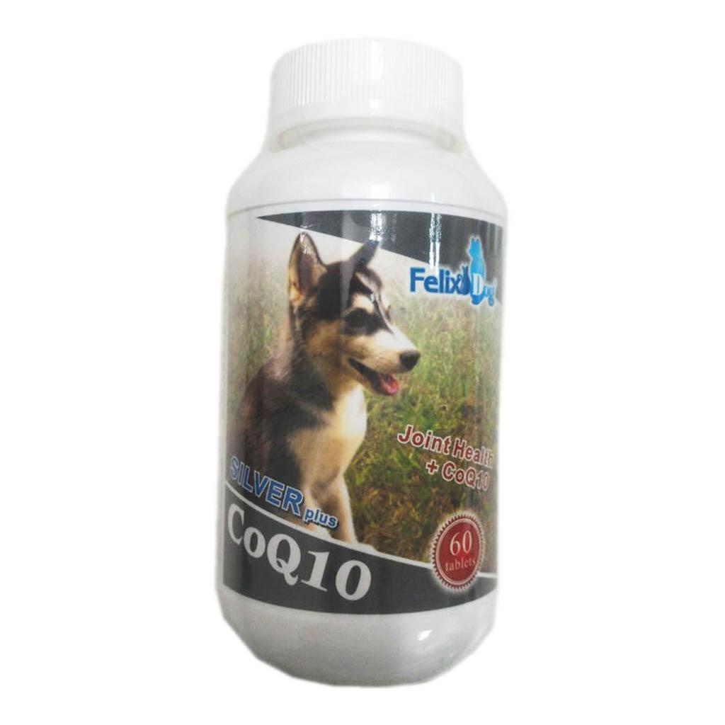 骨力勁 FelixDog 犬貓關心骨關節嚼錠 (SILVER plus CoQ10) /60錠