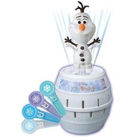 【日本 TAKARA TOMY】迪士尼 冰雪奇緣 雪寶 危機一發 海盜桶(DS82181)