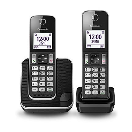 國際 Panasonic DECT數位無線電話 KX-TGD312TWB
