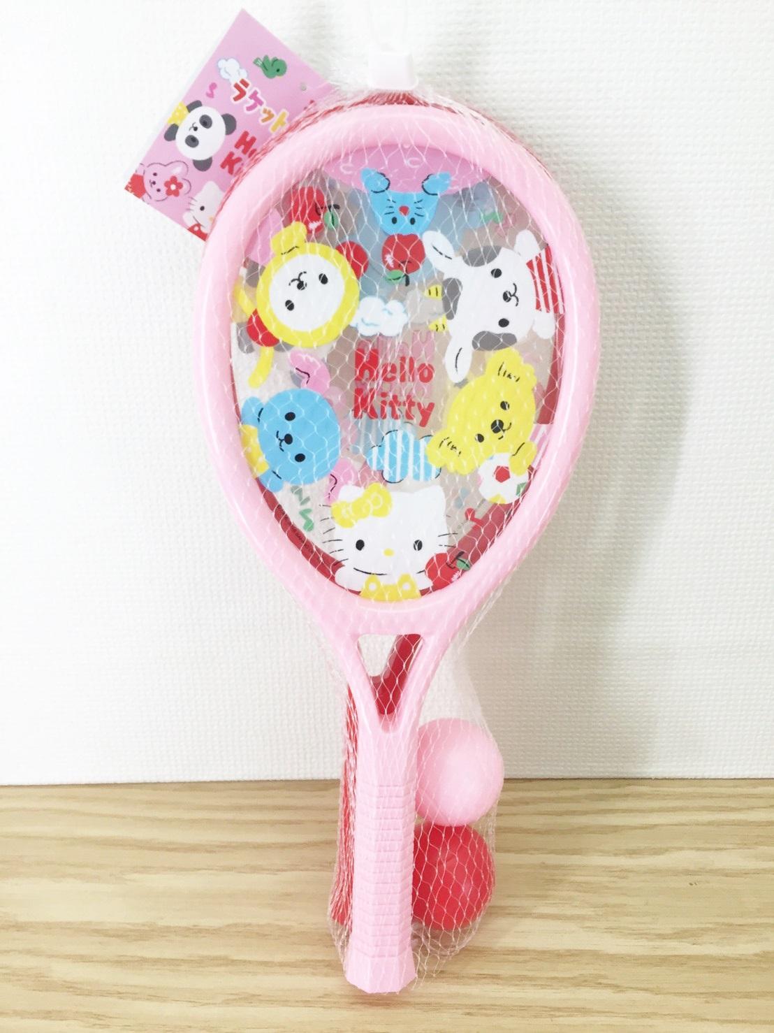 【真愛日本】16040200001玩具球拍組-KT與朋友  三麗鷗Hello Kitty凱蒂貓 堆沙堡用品 玩具