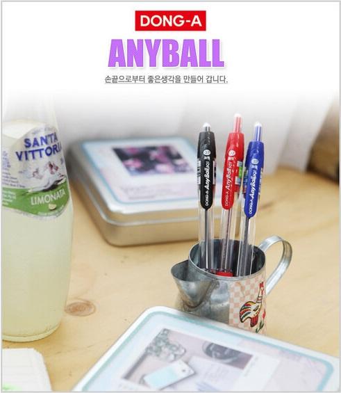 Any Ball Pen 原子筆 德德小品 韓國 進口 連線