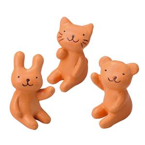 幸福日 Everyday 庭園系列擺飾 - 熊貓兔三入組