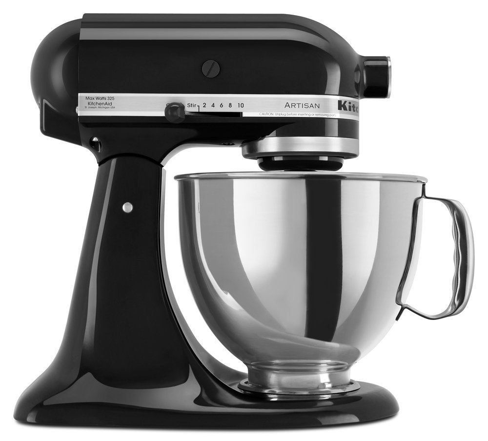全新 黑 KitchenAid Artisan 5QT 抬頭式 攪拌機 5QT 6QT可參考