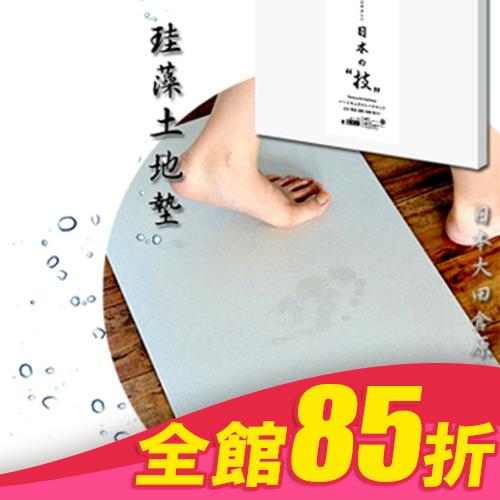 大田倉 日本進口日本製造HIRO日本技硅藻土地墊L矽藻土 珪藻土 腳踏墊衛浴室踏墊足乾 現貨 019316