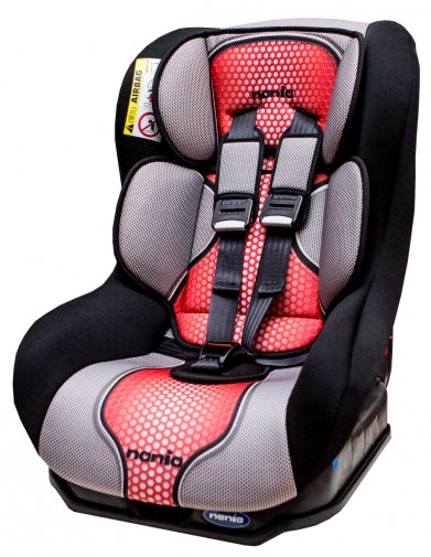 『121婦嬰用品』NANIA 納尼亞 0-4歲安全汽座-紅色(安全座椅)FB00292
