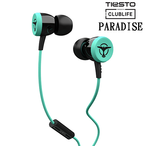 Clublife by Tiesto PARADISE (藍綠) 耳道式耳機