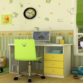 [首雅傢俬] 迪士尼 小熊維尼 轉椅 兒童椅 調整椅 升降椅 椅子 學習椅 電腦椅 辦公椅