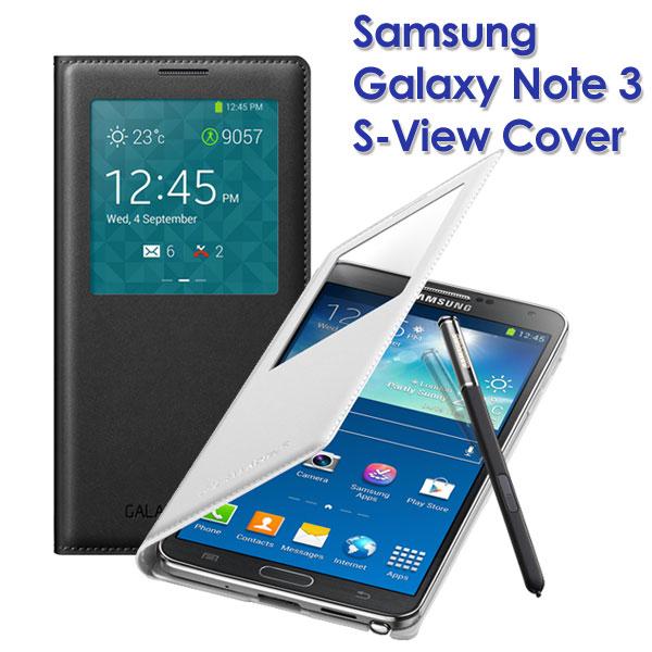 【原廠視窗皮套】SAMSUNG Galaxy Note 3 SM-N900 N9000 N9005 N9003 S View 透視感應皮套/智能保護套/側掀電池背蓋殼