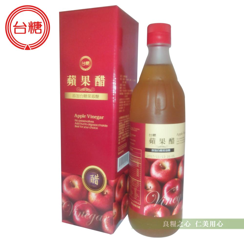 台糖 蘋果醋(600ml/瓶)