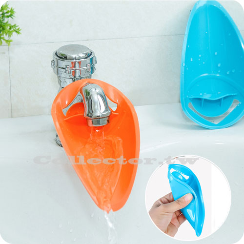 【F16113002】創意鴨嘴幼童洗手導水器 輔助導水器 水槽水龍頭延伸器 延伸水龍頭
