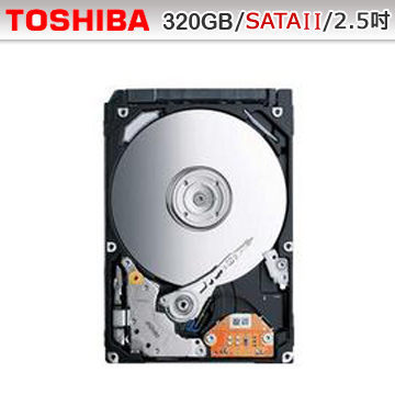 [nova成功3C]TOSHIBA 東芝 MQ01ABD032 320GB 2.5吋 5400轉 9.5mm SATAII內接硬碟