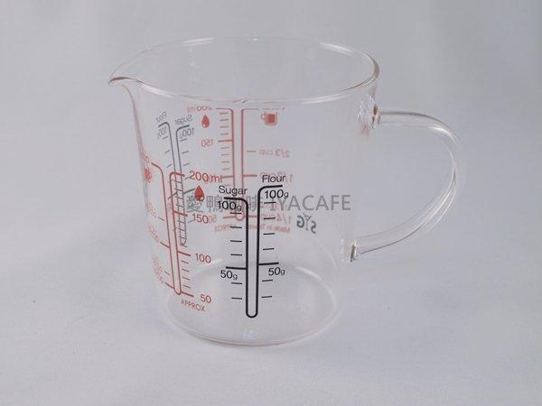《愛鴨咖啡》BMG200 耐熱 玻璃 刻度 量杯 200ml 適用電鍋、烤箱、微波爐加熱