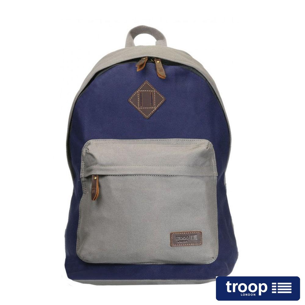 【TROOP】簡約休閒HERITAGE後背包/TRP0384GY
