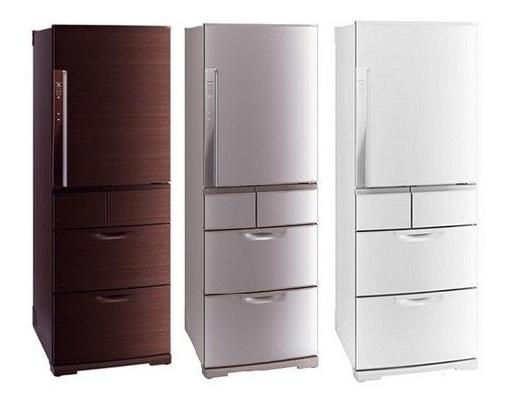 MITSUBISHI 三菱 MRBX52W 日本原裝進口5門電冰箱(520L)★指定區域配送安裝★