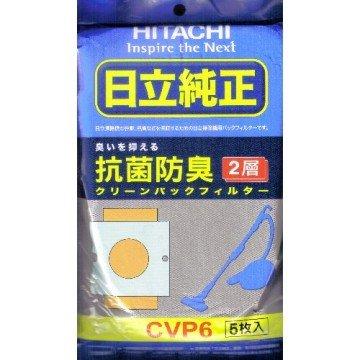 HITACHI 日立 CVP6 吸塵器專用集塵紙袋5入