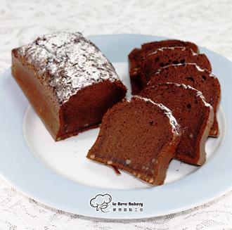 (Le Reve Bakery) 酒香可可蛋糕(每條450克) - 8折優惠★全台獨家使用愛爾禮貝禮詩奶酒製作、法國頂級可可粉、比利時黑巧克力、口感濃郁綿密