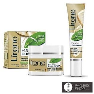 【小資屋】DR.ERIS 肌齡密碼重生面霜+重生眼霜修護組:Lirene(面霜*1+眼霜*1)