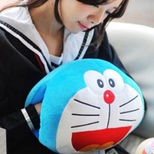 美麗大街【106010814】哆啦A夢造型 抱枕 枕頭 靠枕 暖手枕