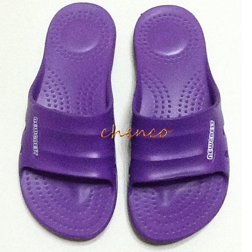【晨光】柔軟室內拖鞋-紫 37~40號四種尺寸383